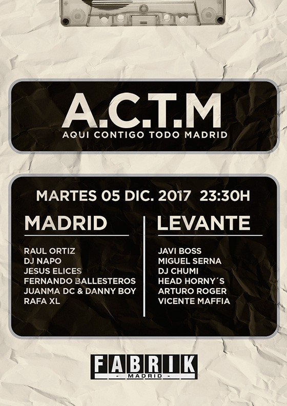 [ACTM] Madrid-Levante en Fabrik