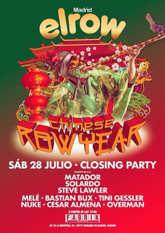 Chinese RowYear Closing Party, Fabrik