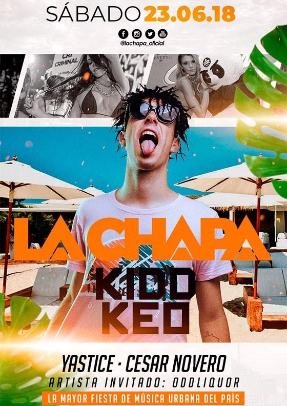 La Chapa con Kidd Keo, Fabrik